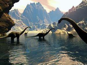 История динозавров история